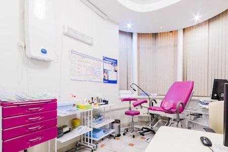 Первичный прием гинеколога